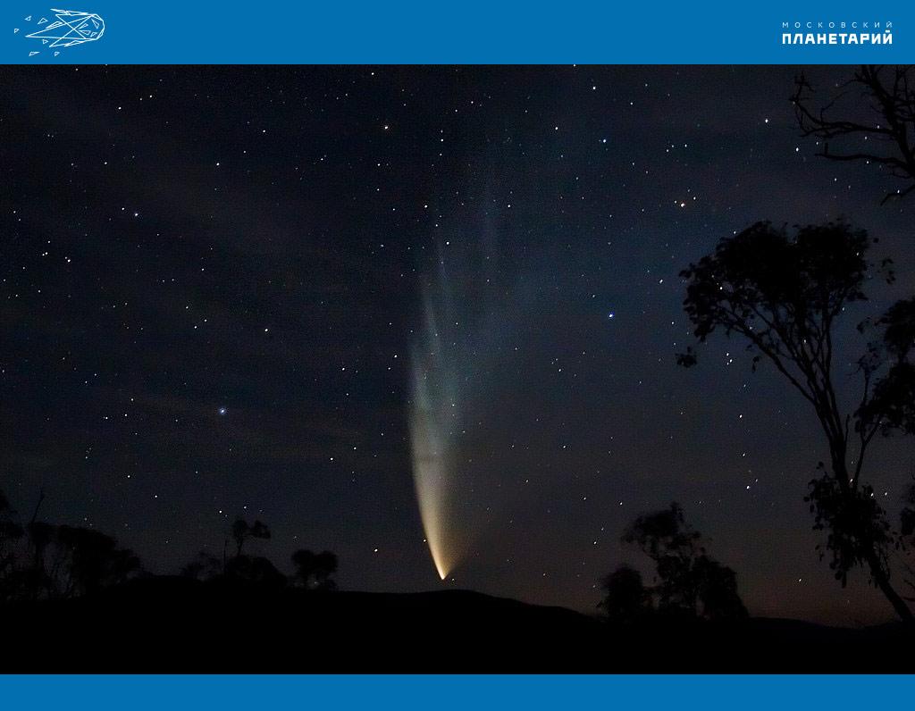 Комета-Макнота-бухта-Свифта-Австралия-23.01.2007