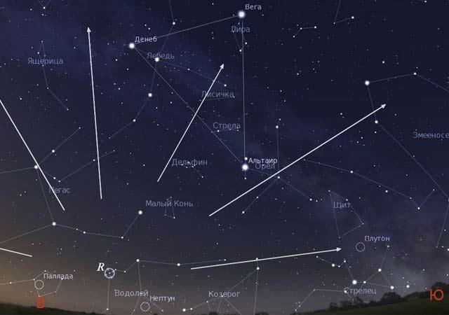 Вночь навоскресенье над столичным регионом пройдёт звездопад